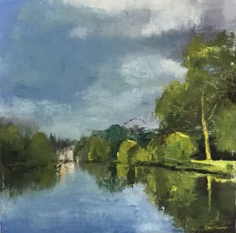 St James Park, London 30*30 cm