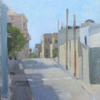 Quiet Street in Yafo 30*30 cm